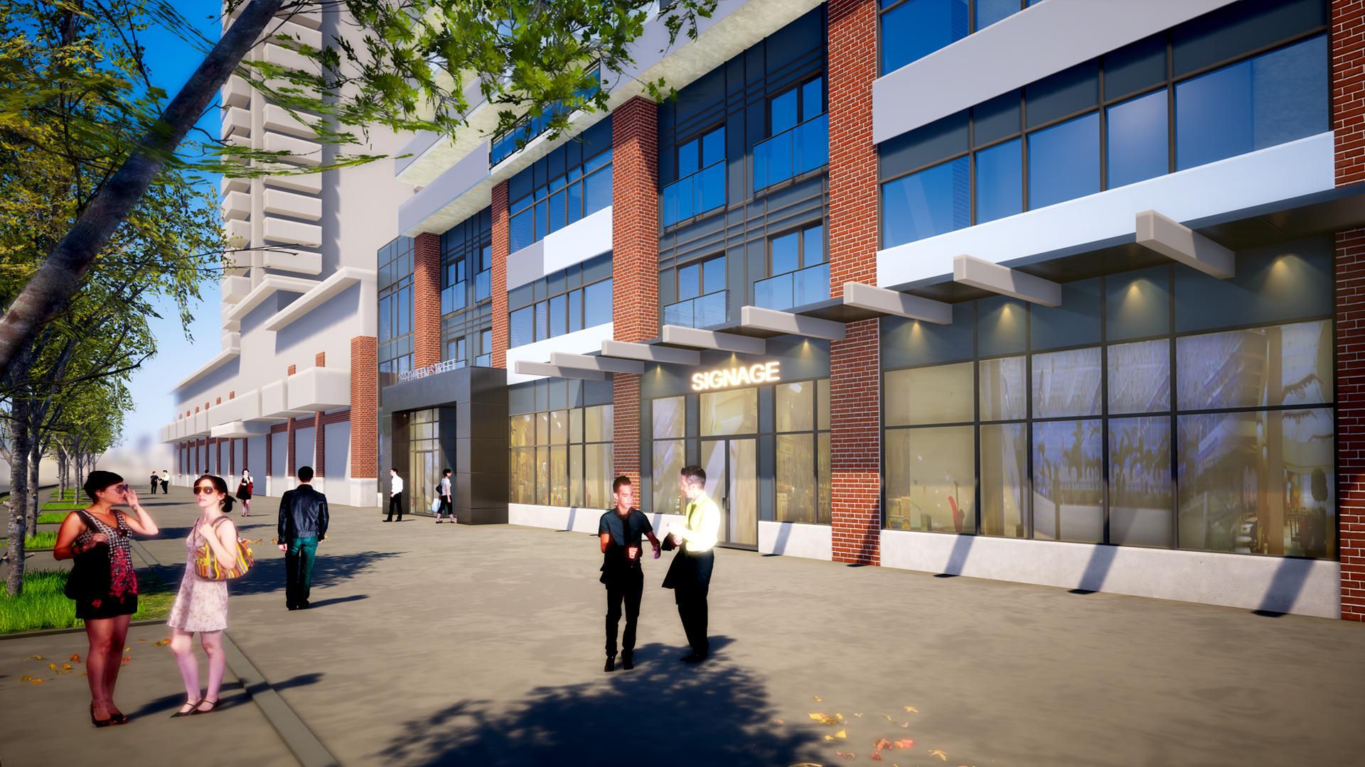 205 Queen Street - Exterior Rendering 3