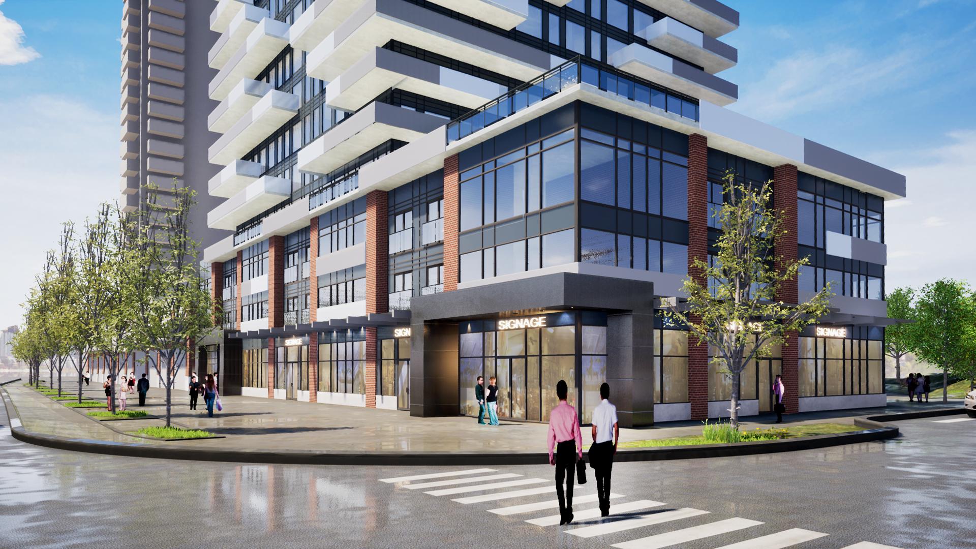 205 Queen Street - Exterior Rendering 4
