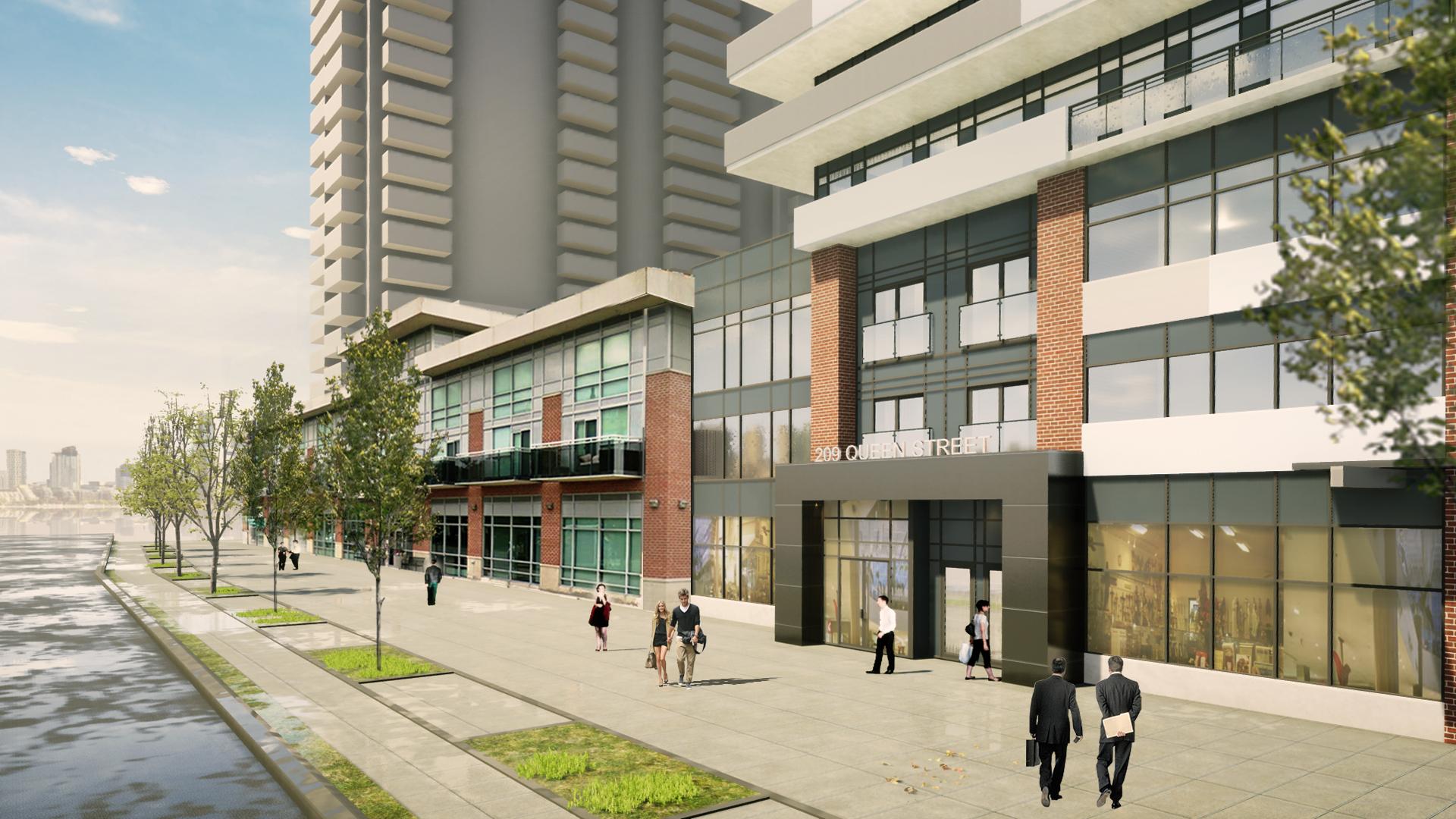 205 Queen Street - Exterior Rendering